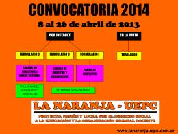 Diapositiva 1 - La Naranja UEPC
