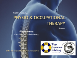 Physio & Occupational Therapy