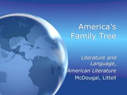 America's Family Tree