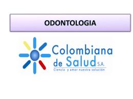 Diapositiva 1 - Colombiana de Salud S.A.