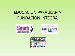 EDUCACION INICIAL JUNJI-INTEGRA-VTF