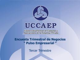 UNION COSTARRICENSE DE CAMARAS Y ASOCIACIONES …