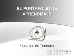PORTAFOLIO DE APRENDIZAJE