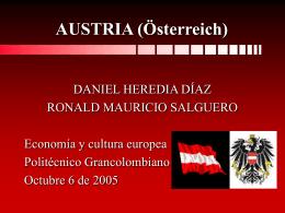 GENERALIDADES DE AUSTRIA