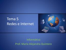 Tema 5. Redes e Internet