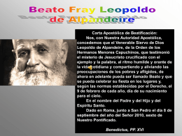 Beato Fray Leopoldo