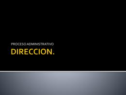 DIRECCION.