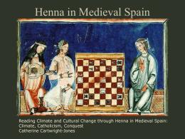 Henna in Medieval Spain