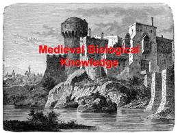 Medieval Biological Knowledge