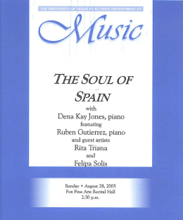 Slide 1 - Dena Kay Jones, Pianist