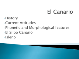 El Canario - University of Birmingham