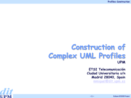 Construction of Complex Profiles
