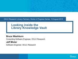 Looking Inside the Library Knowledge Vault