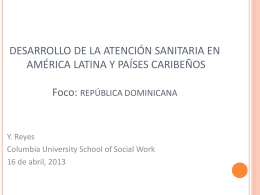 Mental Health Development in Latin America & Carribean