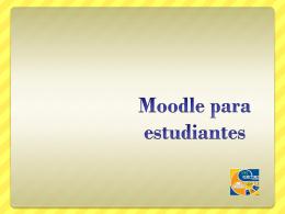 Uso de Moodle para estudiantes