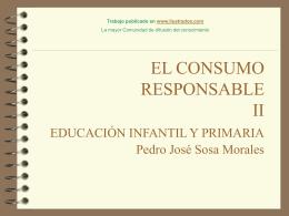 Monografias : El consumo responsable II