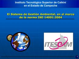 La norma ISO 14001:2004