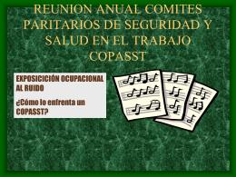 REUNION ANUAL COMITES PARITARIOS EMPRESAS …