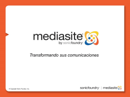 What's New in Mediasite 4.1