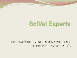 "SNI, ""EXPERTS"" Y ""SPOTLIGTH"""