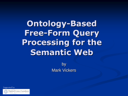 Ontology-Based Natural Language Query Processing for …