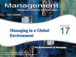 Management 3e - Gary Dessler