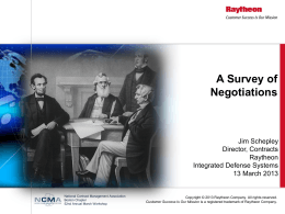 A Survey of Negotiations: Its Evolution, Techniques and
