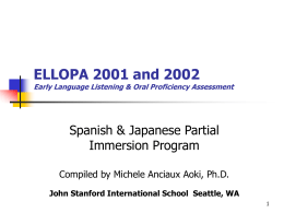 ELLOPA Report 2002 - Anciaux International