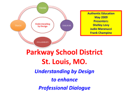 Parkway School District St. Louis, MO.