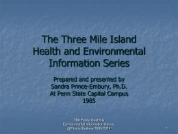 TMI PowerPoint Presentation