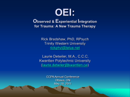 OEI: A Story of the Innovation Process in the Development