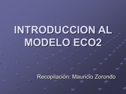 INTRODUCCION AL MODELO ECO2