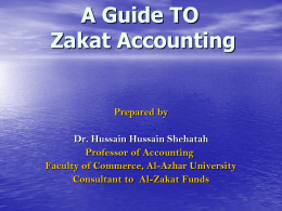 A Guide to Accounting Zakat