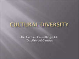 Cultural Diversity - Home NE Tarrant County Training