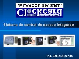 Sistema ClockCard de Control de Acceso Integrado