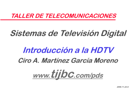 SISTEMAS DE TV DIGITAL - Servidor TIJBC