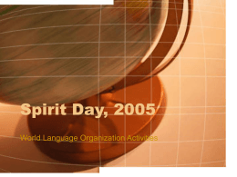 Spirit Day, 2005 - Illinois Valley Community College
