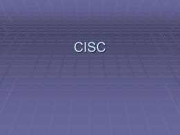 CISC - SJSU Computer Science Department