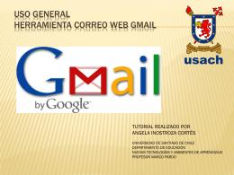 Uso General Herramienta Correo Web GMAIL