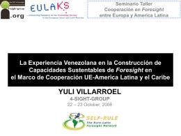 Construyendo Capacidades en Prospectiva 2005-2008