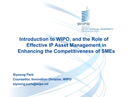 The Role of Effective IP Asset Management_Park