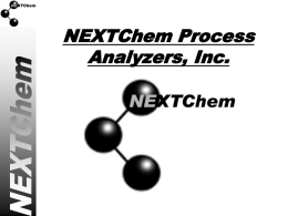 NEXTChem Process Analyzers, LLC.