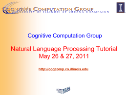 Cognitive Computation Group Learning for Reading …