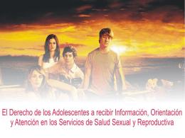 LEY QUE FACULTA A LOS ADOLESCENTES A RECIBIR …