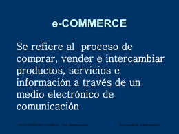 MODELO e-COMMERCE