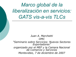 Services Liberalization in the New Generation of PTAs: How