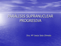 Paralisis Supranuclear Progesivo