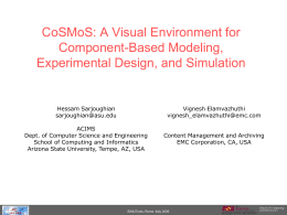 CoSMoS: A Visual Environment for Component