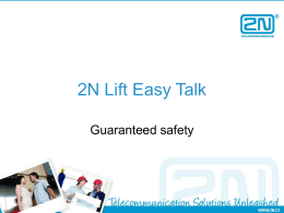 2N Lift Easy Talk