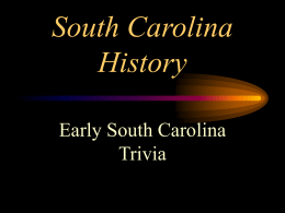 Which river is the border between South Carolina and